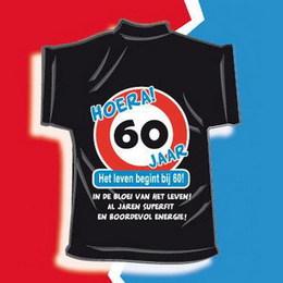 Genoeg T-shirt kado - 60 jaar verjaardag #YF96